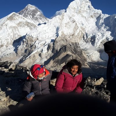 How do you get to the Everest base camp