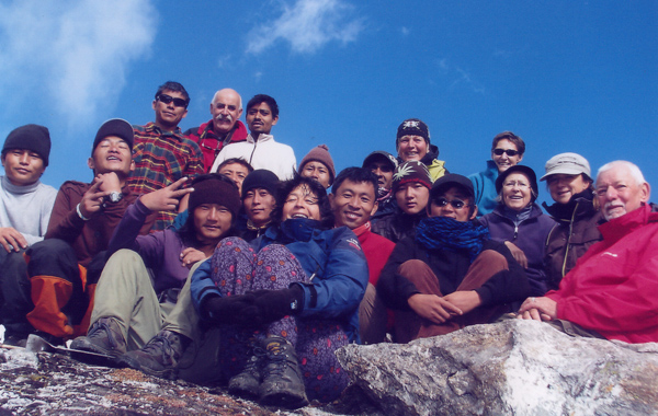 7 Person Group Camping Trek