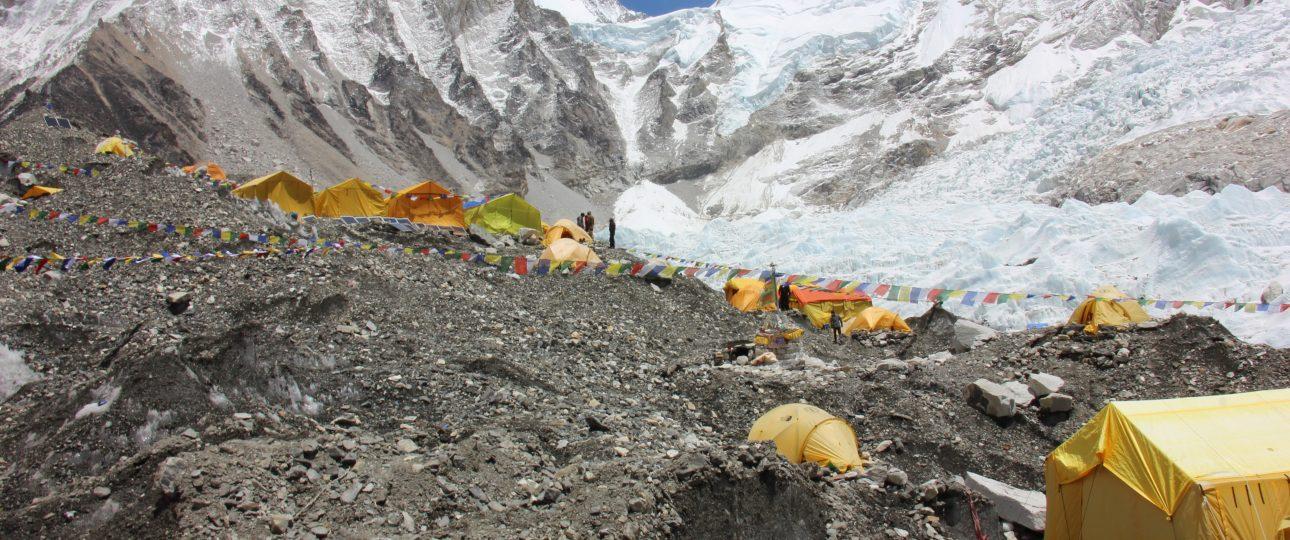 Khumbu Everest trek and peak climbing