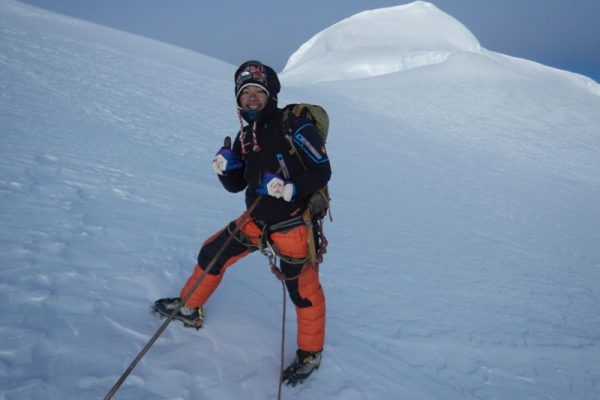 Two days Mera peak climbing from Khare