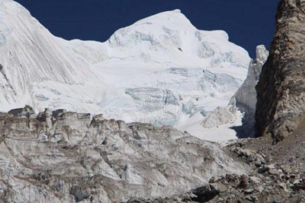Climbing Yubra Peak