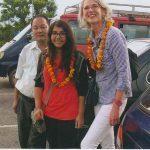 Three-time trek with Dhane