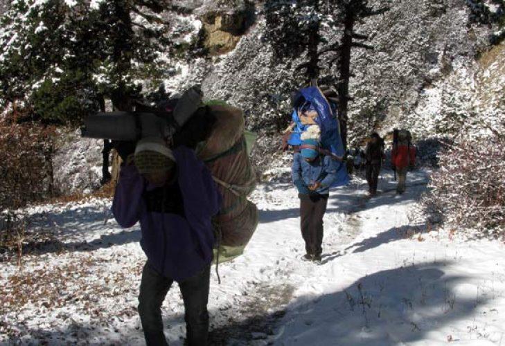 Guide porter price for Nepal Treks
