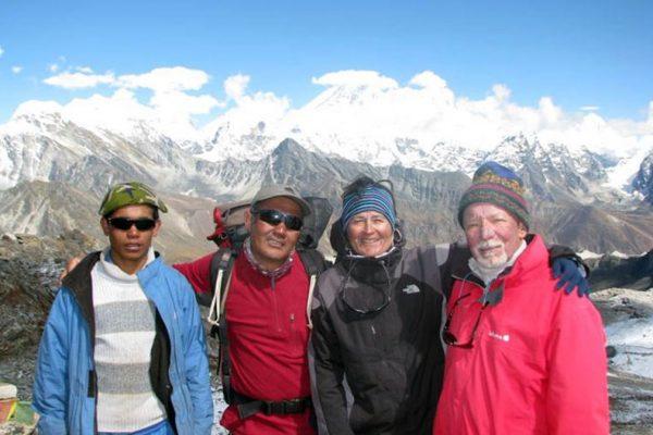 Ramdung and Pharchamo peak climbing