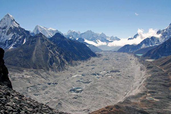 Three pass trekking Khumbu